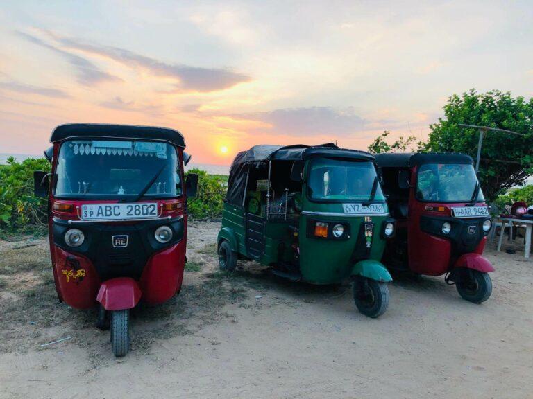 Tuk Tuk Taxi Sri Lanka