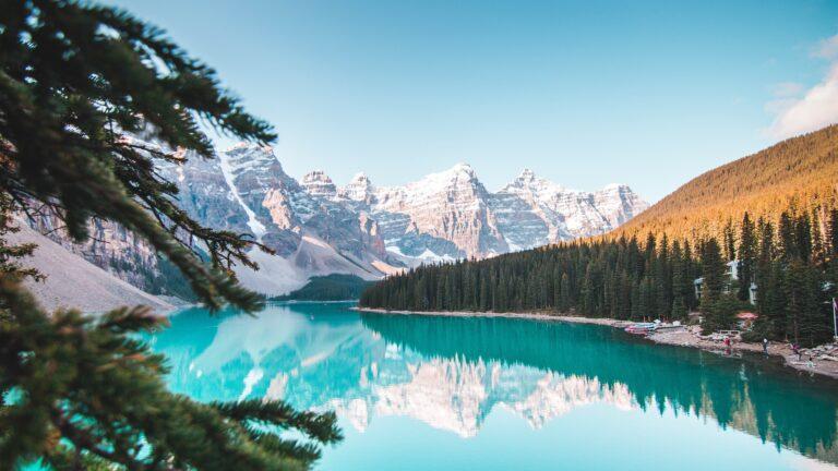 Canada_Banff_meer_bomen_natuur_Event Travel Sterrebeek
