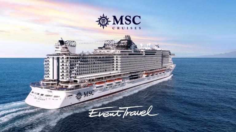 Event Travel & MSC Cruises infosessie