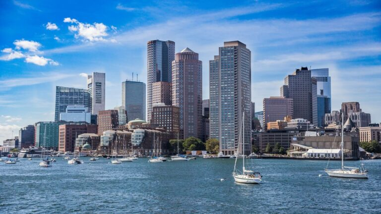 USA_Boston_stad_haven_boten_zon_Event Travel Sterrebeek