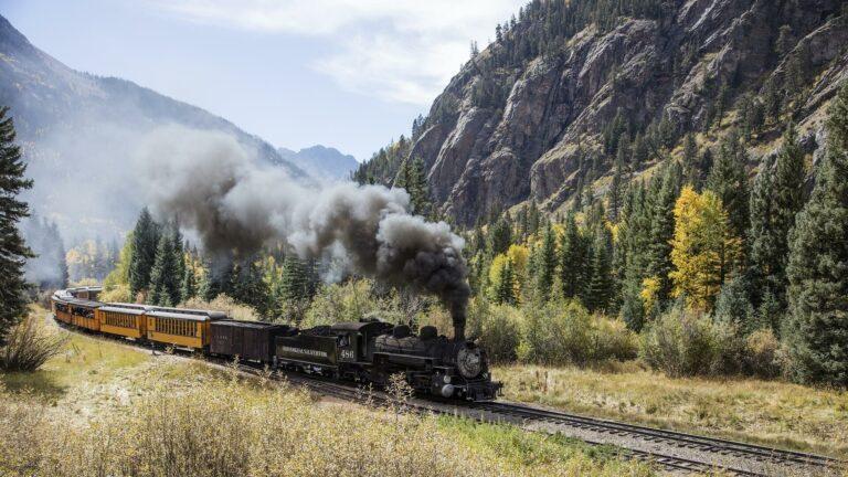 Wild West_USA_Durango_Silverton_stoomlocomotief_trein_Event Travel Sterrebeek