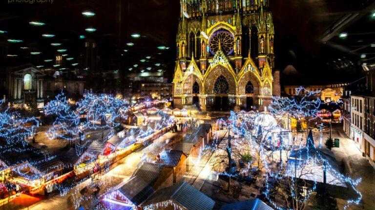 Groepsuitstap Kerstmarkt Reims Event Travel Sterrebeek